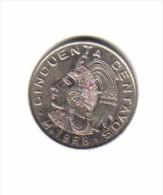MEXICO    50  CENTAVOS  1968 (KM # 451) - Mexico