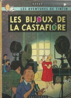 "TINTIN  "" LES BIJOUX DE LA CASTAFIORE ""   -  HERGE   - E.O.   1963 CASTERMAN  B 34 - Tintin"