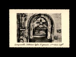 50 - QUERQUEVILLE - Intérieur De L´Eglise St-Germain - Autres Communes