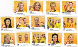 Australia 2008 Beijing Olympics Gold Medallist Set  MNH - Summer 2008: Beijing