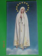 Madonna Di FATIMA - Santino - Images Religieuses