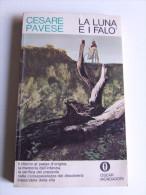 P051 Cesare Pavese, La Luna E I Falò, Oscar Mondadori 1978 Santo Stefano Belbo, Memoria Infanzia Vita - Libri, Riviste, Fumetti