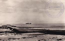 COURSEULLES SUR MER Juno Beach Le Port Artificiel - Autres Communes