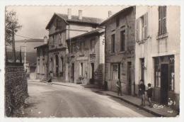 42-VIOLAY-Route De Villecheneve-Mairie Et Poste 1961 Animé - Otros Municipios