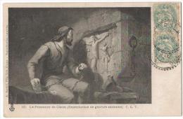 LE PRISONNER DE GISORS (cp Reprod° Gravure Ancienne) - Peintures & Tableaux
