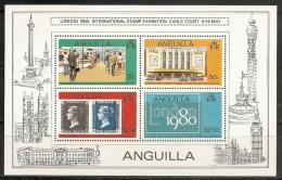 EXPOSICIONES FILATELICAS - ANGUILLA 1979 - Yvert #H29A - MNH ** - Exposiciones Filatélicas
