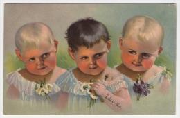 Postcard - Children      (10424) - Portraits
