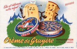 - BUVARD Crème De Gruyère  FROMAGERIE PICON à SAINT-FELIX Haute-Savoie - 172 - Leche