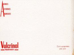 - BUVARD Comprimés VULCRINOL Marinier - 173 - Produits Pharmaceutiques