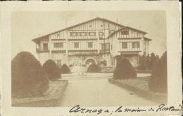 Arnaga -- La  Maison  De Rostand.      (2 Scans) - Hasparren