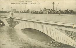 CPA  PARIS, Pont D'Austerliz, Janvier 1910  8001 - Floods