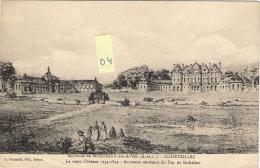 COURTEILLES 27 Environs De Montigny Sur Avre  Le Vieux Château 1754-1849 - France