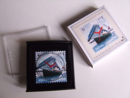 Alt289 Orologio Francobollo Finlandia, Stamp Watch, Montre Timbre, Finland, Finlandie, N.2, For Collection - Montres Publicitaires