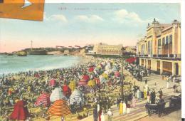 BIARRITZ - La Grande Plage , Trés Bon état ( Voir Scan ) - Biarritz