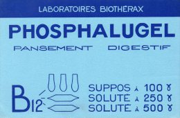 - BUVARD  Pansement Digestif PHOSPHALUGEL - 177 - Produits Pharmaceutiques