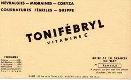 - BUVARD  Dragées TONIFEBRYL  - 179 - Produits Pharmaceutiques