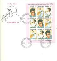 FDC 1993 DOMINICA - Elvis Presley