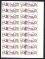 FEUILLE D'ORIGINE   18 Timbres AUTOADHESIFS N° 713 - France