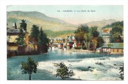 Cp, 65, Lourdes, La Chute Du GAve - Lourdes