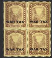 SS1650 - BAHAMAS 1918 , Il N. 60 In Quartina Integra  *** MNH - 1859-1963 Kronenkolonie