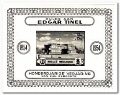 België 1954 Postfris MNH Edgar Tinel - Viñetas De Franqueo