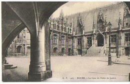 CPA 76* ROUEN*  La Cour Du Palais De Justice - Rouen