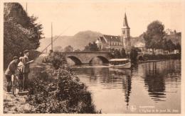 BELGIQUE - NAMUR - DINANT - ANSEREMME - L'Eglise Et Le Pont St. Jean. - Dinant