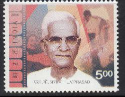 India MNH 2006,  L.V.Prasad, Film Producer, R, Actor, Cinema, Founder Of Eye Charity Hospital, Medicine, - Nuovi