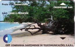 SAO TOME ET PRINCIPE PLAGE BEACH STRAND 240U    LUXE - Sao Tome And Principe