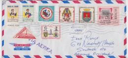 ECUADOR - EQUATEUR - Long Cover Quito 1965 To Germany - Ecuador