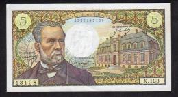 5 F PASTEUR - 1970 - SUP - 1962-1997 ''Francs''