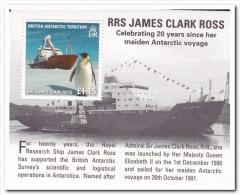 Brits Antarctica 2011 Postfris MNH RRS James Clark Ross, Penguins - Groot-Brittannië (oude Kolonies En Protectoraten)