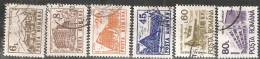 Romania 1991 Usato - Mi.4710/15  Yv.3971/76 - 1948-.... Republiken