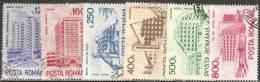 Romania 1991 Usato - Mi.4746/51  Yv.3976A/F - 1948-.... Republiken