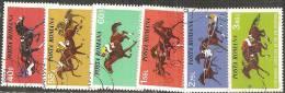 Romania 1974 Usato - Mi.3182/87  Yv.2828/33 - 1948-.... Republiken