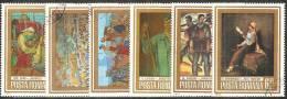 Romania 1972/3 Usato - Mi.3150/55  Yv.2816/21 - 1948-.... Republiken