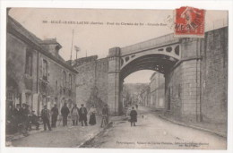SILLE LE GUILLAUME - Pont Du Chemin De Fer - Grande Rue - Sille Le Guillaume