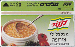 Israel, BZ-070, Knorr Soup 2, 2 Scans - Israel