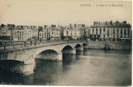CP, 44, Nantes, Le Pont De La Belle-Croix, Vierge - Nantes