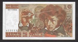 10 F BERLIOZ - 1978 -  Pr.NEUF - 1962-1997 ''Francs''