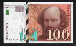 100 F CEZANNE 1997 - NEUF - 1992-2000 Dernière Gamme