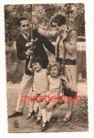 Famille Parfaite 1939, Fillettes Et Parents, Balançoire -Completed Family With 1939, Girls And Parent, Swing - Moda