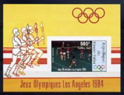 Haute Volta BF ND/imperf/B JO 84 ** - Summer 1984: Los Angeles