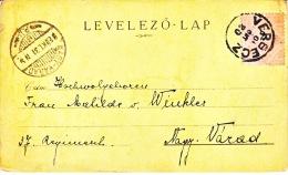 Hungary  Postal History Card  1898   (o) - Hungary