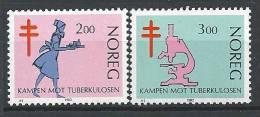 Norvège 1982 N°818/819 Neufs** Lutte Contre La Tuberculose - Norway