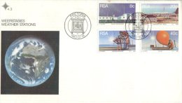 (400) Africa - FDC Cover - Premier Jour - RSA - Weather Stations - Naturaleza