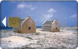 Antilles (Neth) - Bonaire, Telefonia Bonairano, Slave Huts, 120 Units, 4/96, 5.000ex, Used - Antilles (Netherlands)