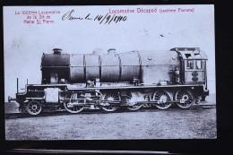 LOCOMOTIVE DECAPOD LA 1000 EME STE HAINE SAINT PIERRE - Treni