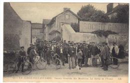 La Ferté Sous Jouarre La Ferté-sous-Jouarre Société Générale Des Meulières Sortie De L´usine Cpa 77 Seine Et Marne - La Ferte Sous Jouarre