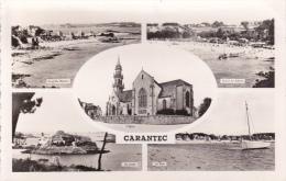 CPA 29 CARANTEC ,Multivues.(1961) - Carantec
